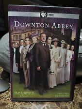 Downton Abbey Season 1 Masterpiece Classic Original UK Edition 3 Disc Set Mint