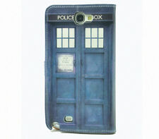 Doctor Who Tardis Leather Wallet Flip Case For Samsung Galaxy Note II 2 N7100