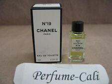 CHANEL No.19 MINI 0.13 FL oz / 4 ML Eau De Toilette New In Box * Made In France*
