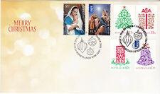2013 Christmas (Gummed Stamps) FDC - Merrylands NSW 2160 PMK