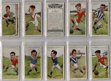 "Full Set, Players, Footballers Caricatures by ""RIP"", 1926 VG (Lu437-332)"