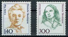 Bund MiNR 1432 + 1433 Freimarken Frauen der Deutschen Geschichte postfrisch **