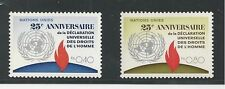United Nations, Geneva # 30-31 Mnh 1973 Disarmament Decade (1970-79)