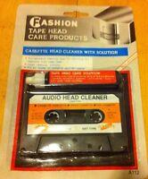 Audio Cassette Tape Head Cleaner x 1  Non-abrasive Oz Stock