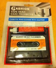 Audio Cassette Tape Head Cleaner x 1  Non-abrasive Oz Stock