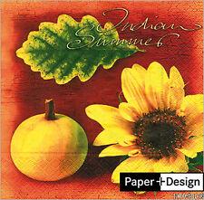 """Packung 20 Servietten """"Indian summer"""" 33x33cm Paper+Design Original verpackt"""