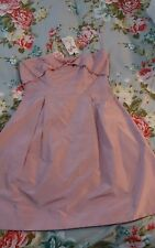 Alannah hill pink silk dress size 14 brand new $329.00
