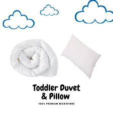 Non Allergenic Baby Cot Bed Duvet & Pillow All Sizes Junior - Sets and Separate