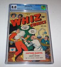 Whiz Comics #68 - 1945 Fawcett Golden Age issue - CGC VF 8.0