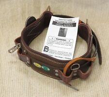 Bashlin 1511n D25 1511n Wrangler 2 D Ring Linemans Tool Belt