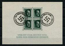 GERMANY 1937 Deutsches Reich CTO Michel Block #7 Special Postmark