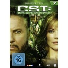"CSI CRIME SCENE INVESTIGATION ""SEASON 7"" 6 DVD BOX NEU"