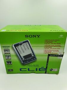 Sony CLIE PEG-SL10 - Personal Organizer - Includes Manual and Box