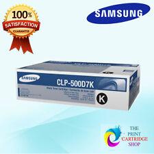 New & Original Samsung CLP-500D7K Black Toner Cartridge CLP-500 CLP-500N CLP550