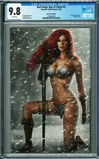 Red Sonja: Age of Chaos #2 CGC 9.8 (2020, Dynamite) Nathan Szerdy Virgin variant