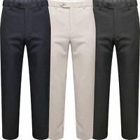 Marks & Spencer Mens Active Elastic Waist Trousers M&S Smart Formal Long Pants