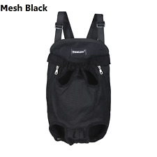 Pet Puppy Dog Shoulder Bag Backpack Front-facing Carrier Ventilated for Walking