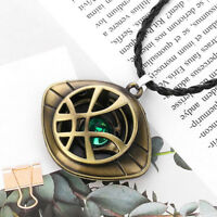 Dr Doctor Strange Pendant Eye of Agamotto Necklace Cosplay Marvel Prop Keychain