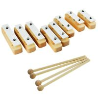 A-Star 8 Wooden Chime Bar Block Set with 8 Beaters