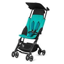Poussette de promenade bleus panier pour bébé