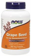 Grape Seed Antioxidant 100mg Now Foods 200 Caps