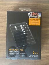 New ListingWd Black P10 2Tb Game Drive for Pc PlayStation Xbox Portable External Hard Drive