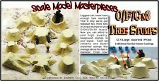 Scale Model Masterpieces OLD TREE STUMPS X-LARGE Multi Scale