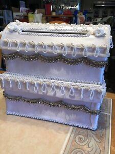 "Wedding Card Box Money Holder Party Reception Gift Envelopes 11"" X 11"" X 9"