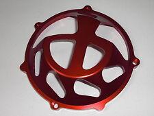 Ducati Kupplungsdeckel offen, Ergal, rot, neu