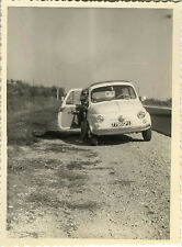 PHOTO ANCIENNE - VINTAGE SNAPSHOT - VOITURE AUTOMOBILE FIAT 500 - CAR