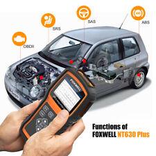 Foxwell Nt630Plus Automotive OBD2 Diagnostic Scanner ABS SRS SAS Code reader US