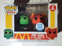 Funko Pop! Ad Icons - McDonald's: Fry Kids (Green & Red) - Limited Edition