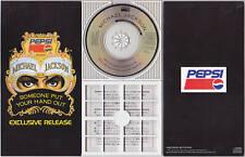 "Michael Jackson SOMEONE PEPSI PROMO 3"" mini CD 3-inch Single Longbox Japan 1991"