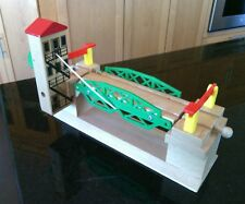 Original Brio Swedish Wooden Train Set Lifting Bridge Parts Railway Piece 33370
