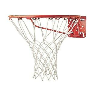 """Champion Sports Economy Replacement Basketball Net, 4mm 50G, 12 Loops 21"""" Long"""
