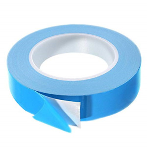 Thermal Tape, 25m x 20mm x 0.2mm Double Side Thermal Adhesive Tapes Cooling Pad
