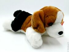 "AURORA - 8"" Homer Beagle Puppy Dog Plush Stuffed Animal Toy"