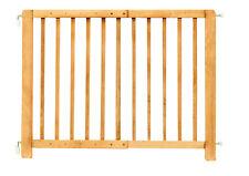 Holz Sicherheitsgitter Treppenschutzgitter verstellbar 70-110cm Tür Schutzgitter