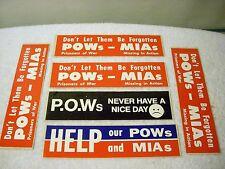 Pow Mia Sticker Decal