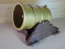 tütDB- Playmobil - Ritterburg - Kanone Dicke Berta braun/gold