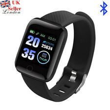 Black 116Plus Smart Sport Watch Bluetooth Loop Fitness Activity Health Tracker