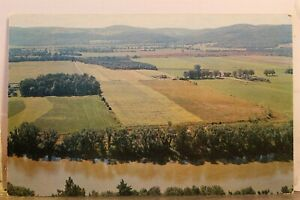 Scenic Chemung Valley Panorama Postcard Old Vintage Card View Standard Souvenir