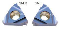 5x Gewindeplatten ISO (16ER/ 16IR.) Vollprofil  Steigung 1,0-3,0mm