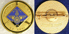 Spilla Badge ANAI 50 Anni Volante  con smalti  #324
