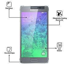 Premium TEMPERED GLASS SCREEN PROTECTOR ANTI SCRATCH For Samsung Galaxy Alpha UK
