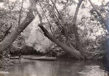 ✒ CROISIERE NOIRE CITROEN photographie originale Rivière N'Barra CENTRAFRIQUE