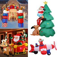 Giant Animated Santa Archway Inflatable Christmas Indoor Outdoor Yard Decoration