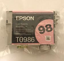 Genuine Epson 98 T0986 Light Magenta Ink for Artisan 700 710 725 730 800 810 835