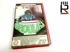 GHOULIES (PAL VHS) 1984 Pre Cert Large Case Ex-Rental. Very Good Condition RARE!