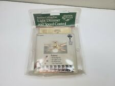 New Old Stock Hampton Bay RC1000A Ceiling Fan Remote and Transmitter Kit